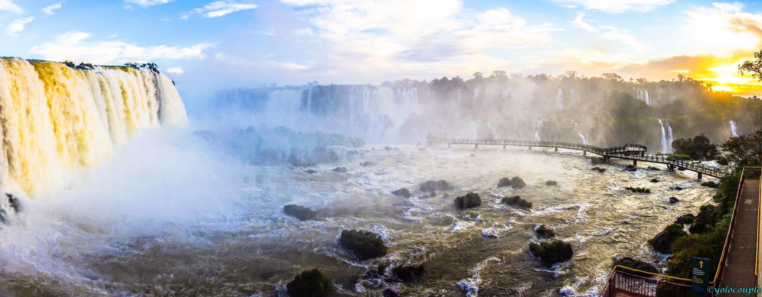 Amazing Iguazu Falls Brazil Yolocouple